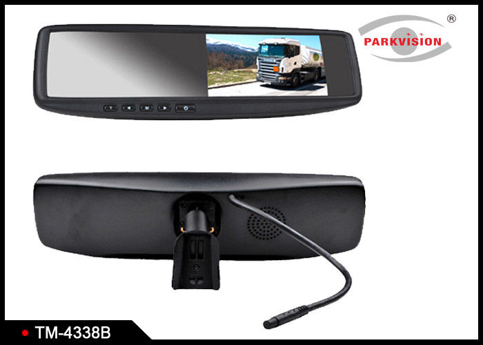 400cd / M2 Brightness Car Reversing Mirror Monitor With 3 - Way Video Input